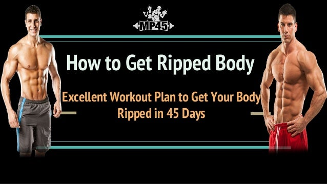 how to get ripped body workout