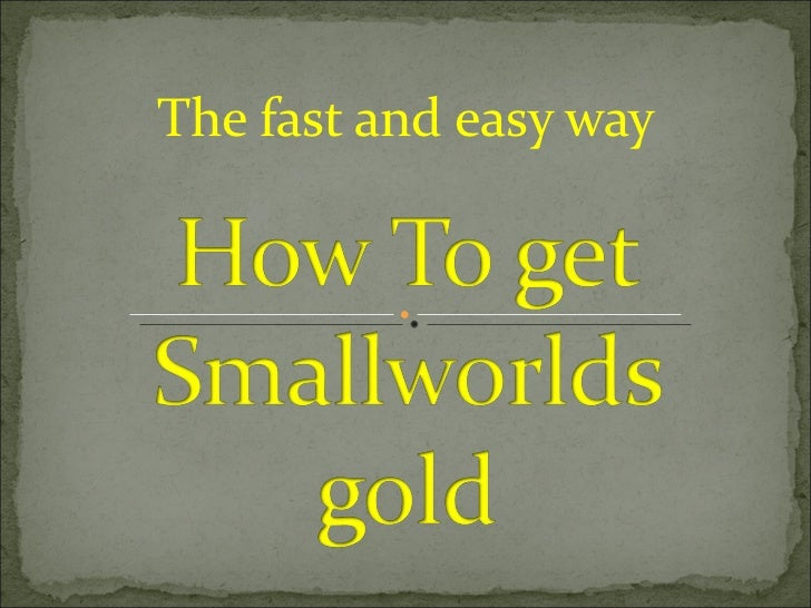 The fast and easy way