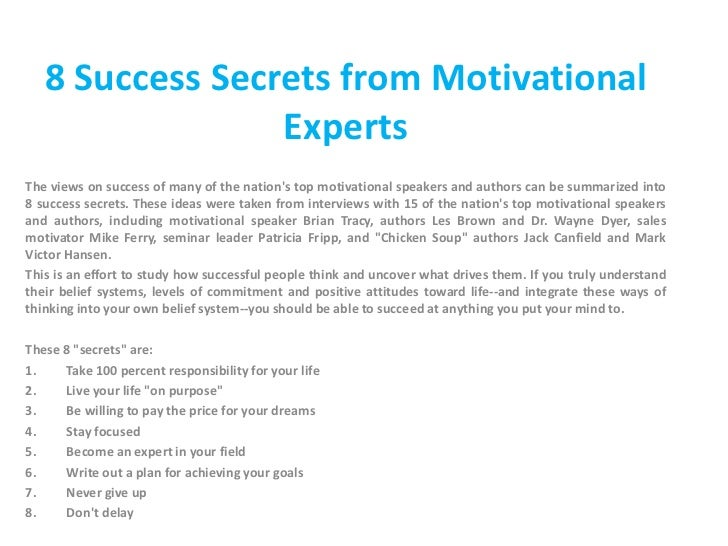 essay on how to get success in life