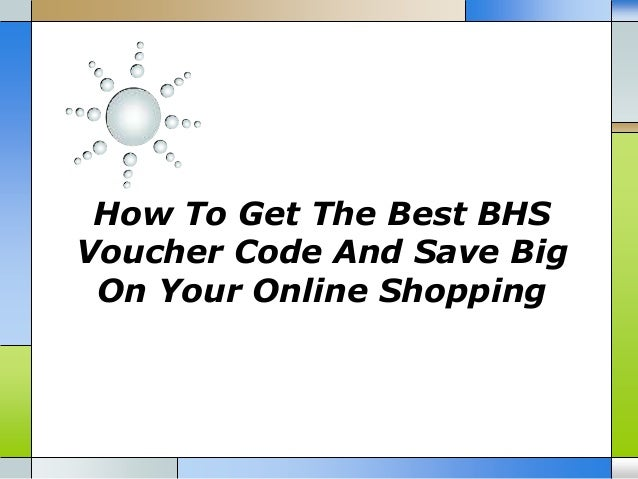 How to get the best bhs voucher code and save big on your online shopping