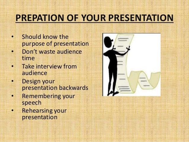 how to make a good speech presentation