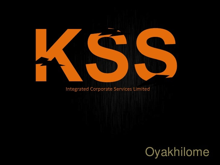 Integrated Corporate Services Limited                                  Oyakhilome