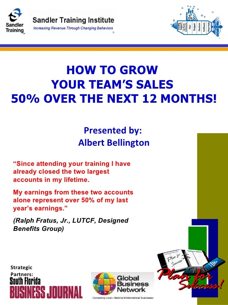 How To Grow Your Teams Sales 50% In 2010   Linked In