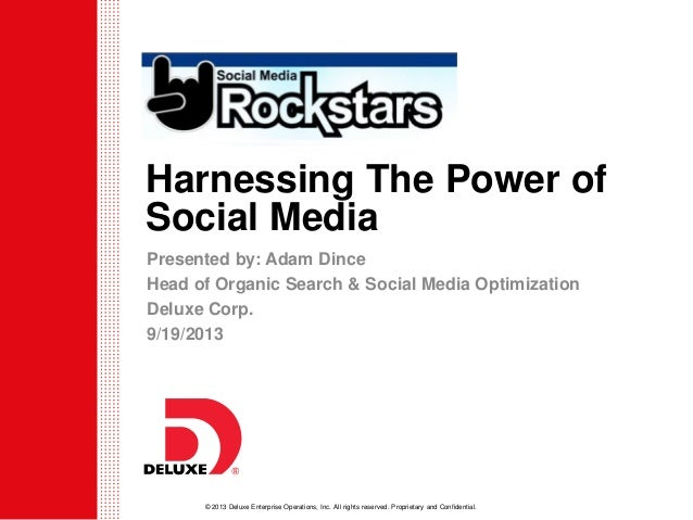 How To Harness The Power of Social Media