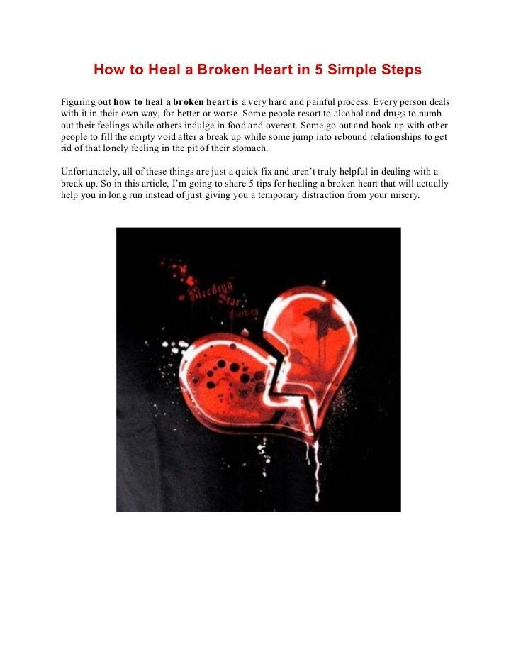 How to heal a broken heart – 5 tips for healing a broken heart