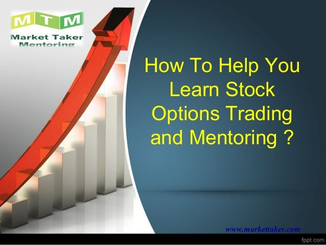 Learning stock option trading