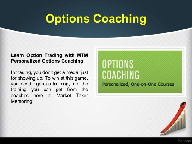 Option trading learning