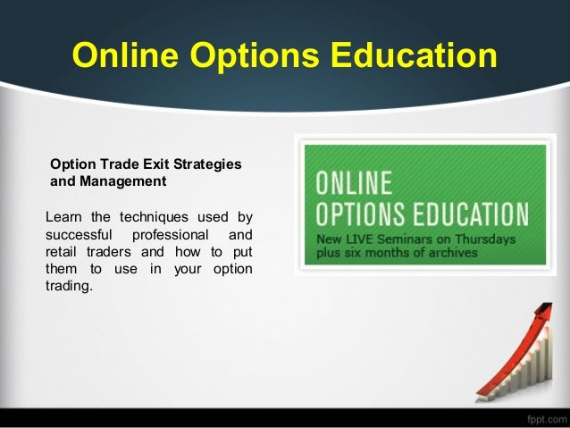 Learning stock options trading