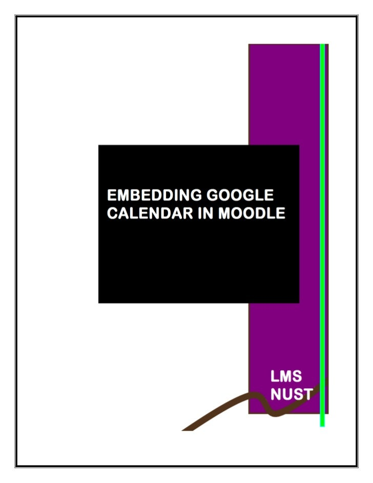 How to import_google_calendar_into_moodle