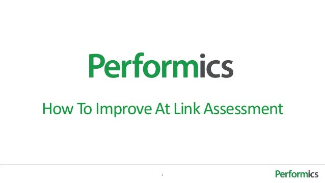 SEO: How to improve at link assessment