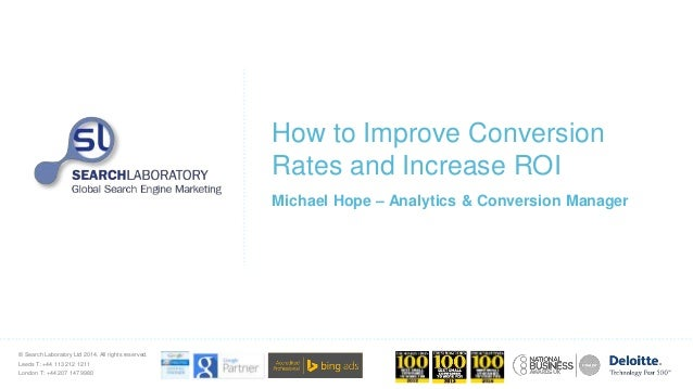 How to Improve Conversion Rates and Increase ROI