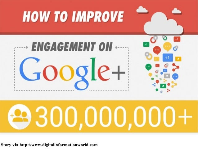 How to improve engagement on google+
