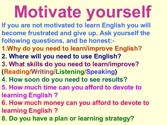 How to improve English?