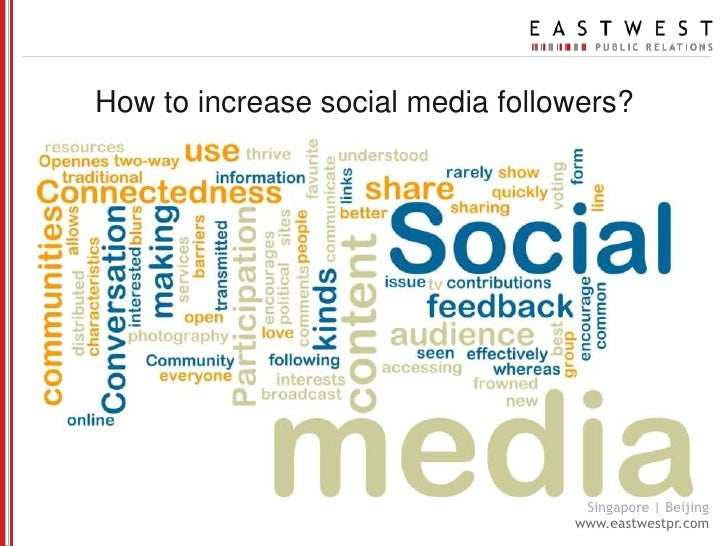 How to increase social media followers?<br />