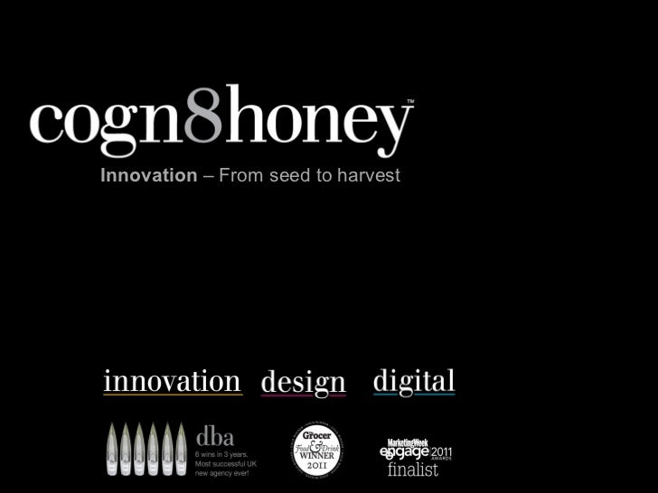 Innovation – From seed to harvest