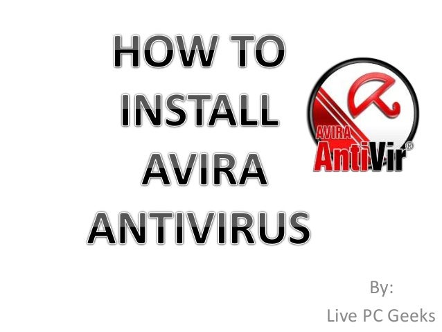 how to use antivirus live cd