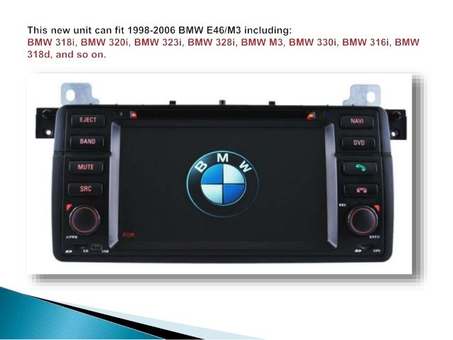how to install bmw e46 m3 navigation dvd player gps system. Black Bedroom Furniture Sets. Home Design Ideas