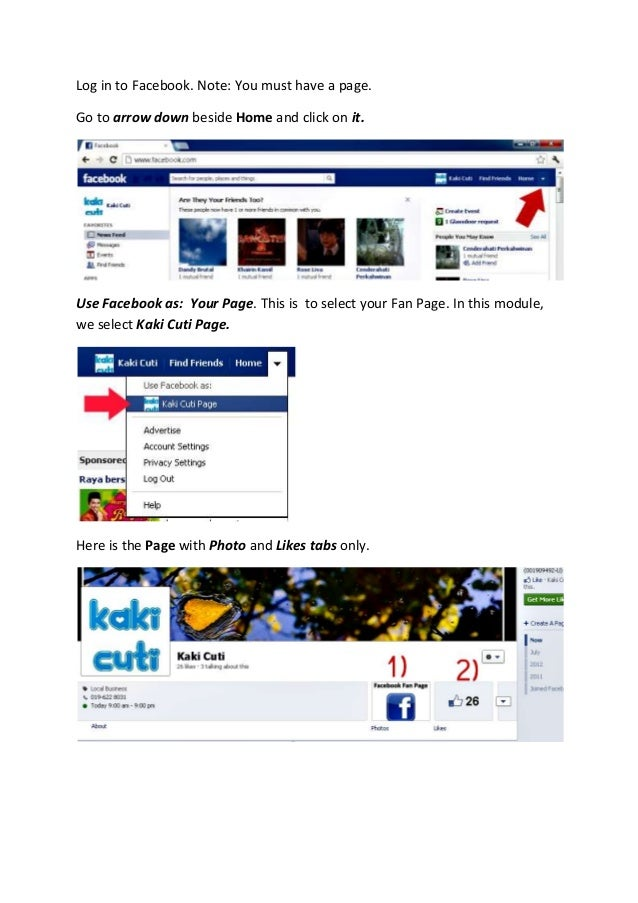 How to Install Forum App on Facebook Page