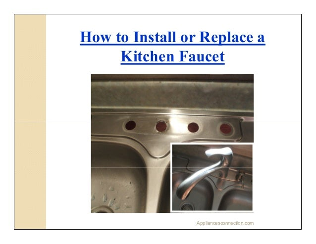 how to install kitchen tap sink 35