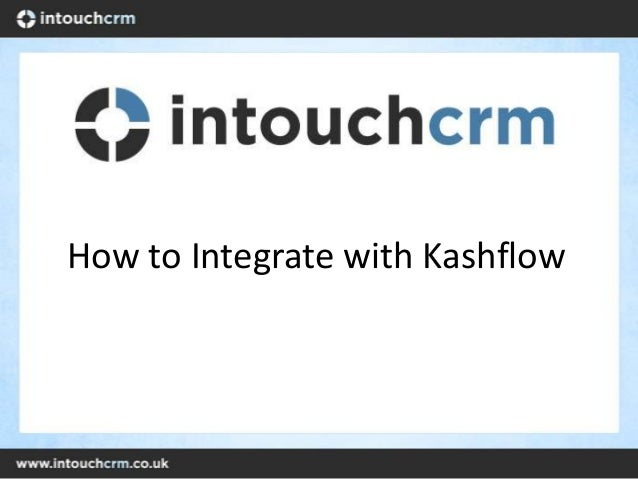 How to integrate with kashflow