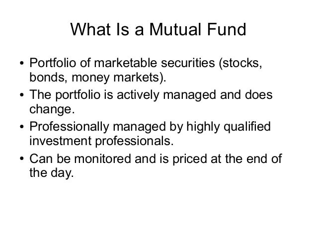 Key Differences Between Stocks and Mutual Funds