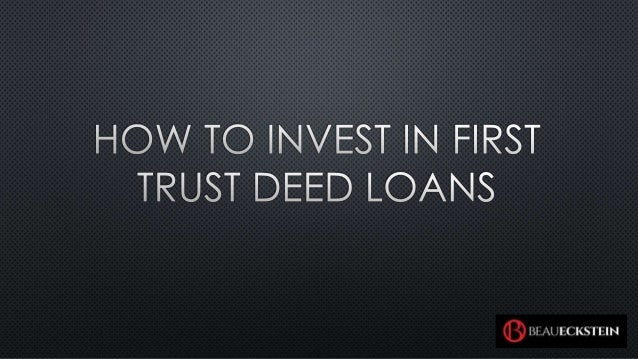 how to get the deed to your trust