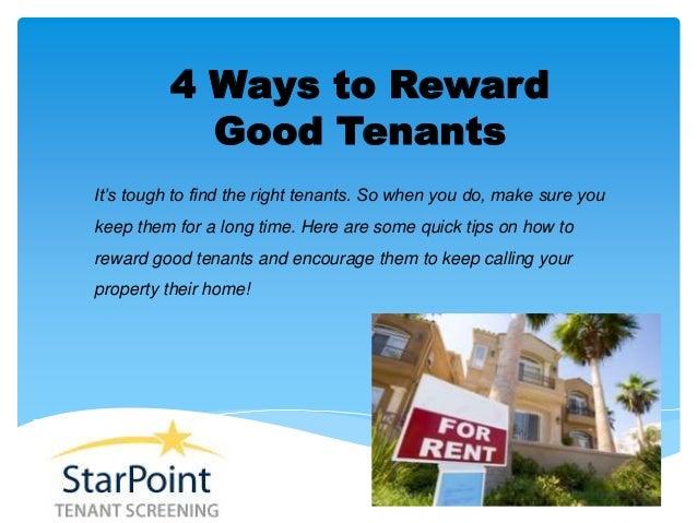 Right buy tenants