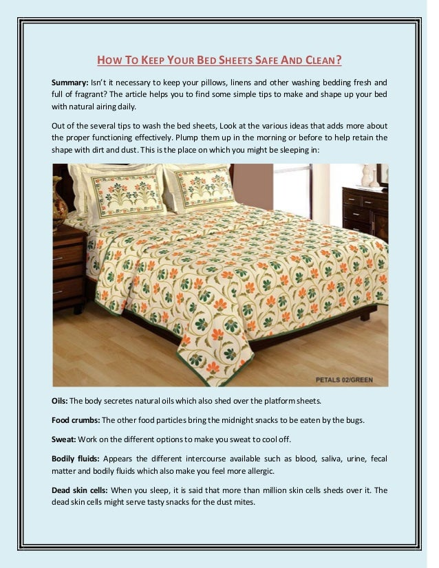 how to keep your bed sheets safe and clean. Black Bedroom Furniture Sets. Home Design Ideas