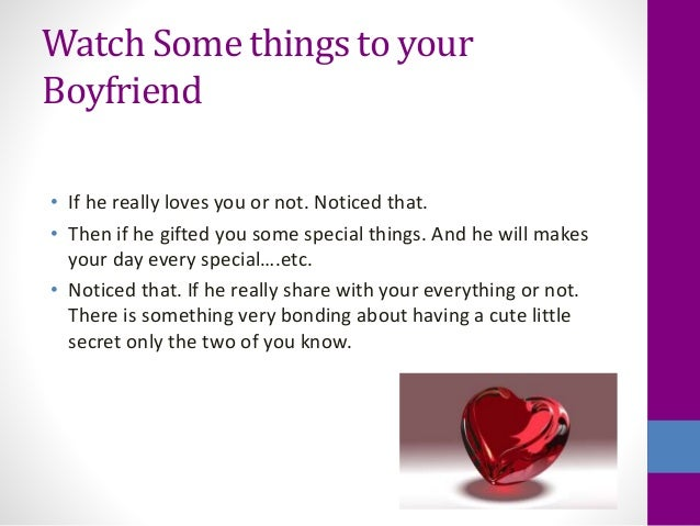 How Can You Tell If A Guy Loves You Quiz