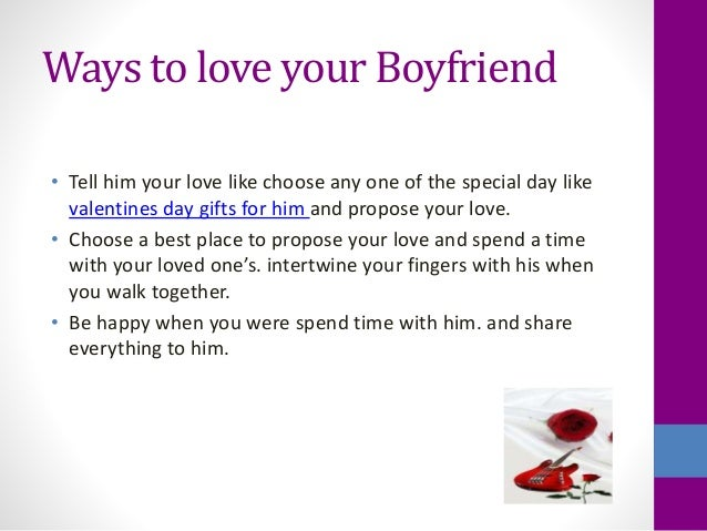 Proposing to your boyfriend statistics for What to make your boyfriend