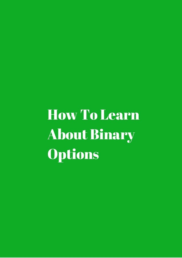 Tricks to trading binary options
