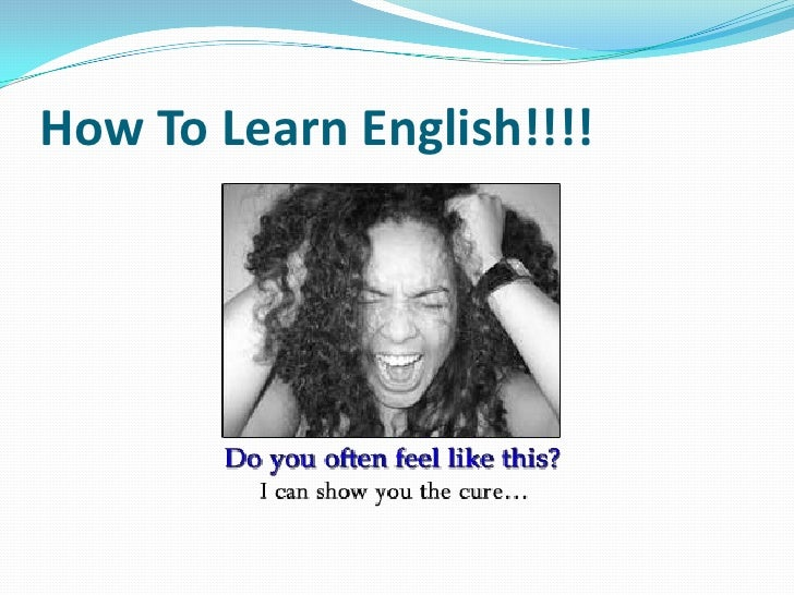 HOW TO LEARN ENGLISH FASTER