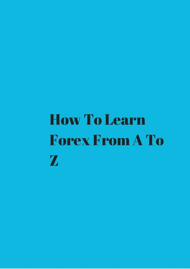 How can i learning forex