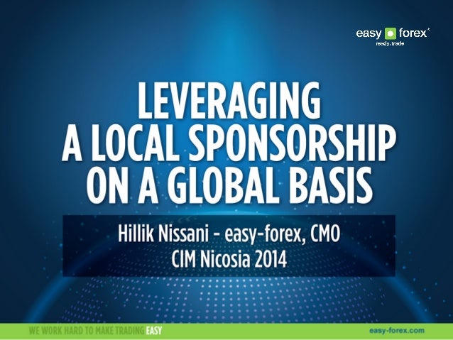 How to leverage a sponsorship CIM annual 2014 event