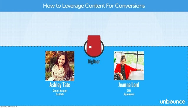 How to leverage content for conversions