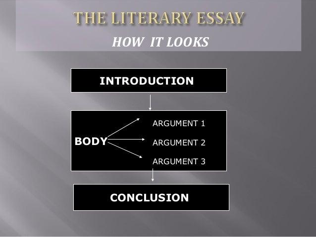 How to write a literary criticism essay