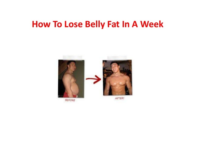 how to lose your belly fat in 2 weeks