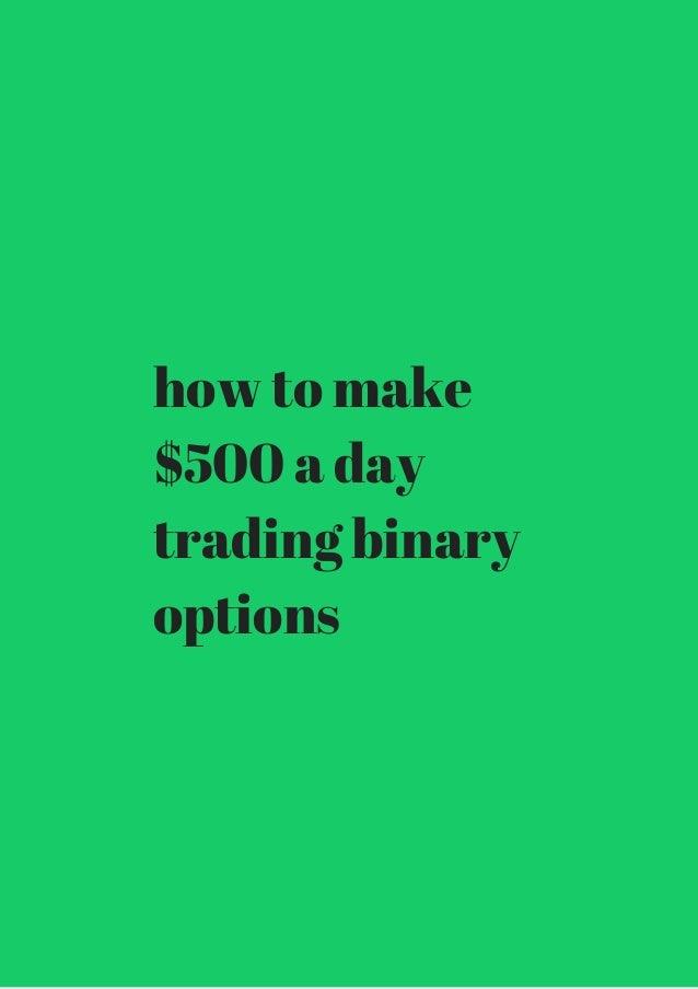binary options on the dollar