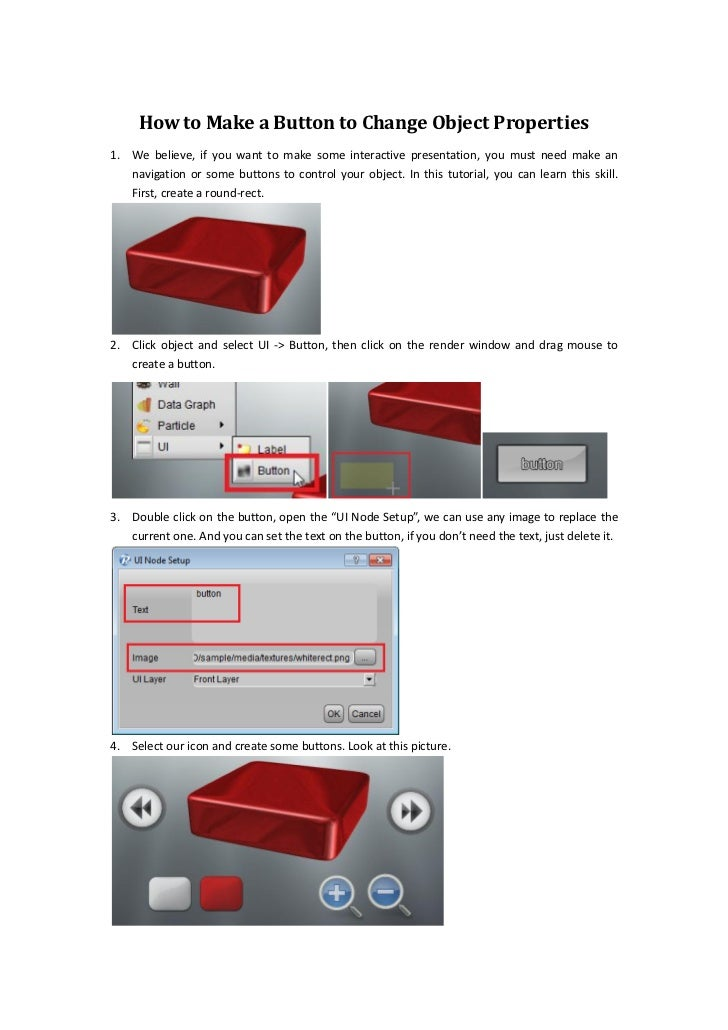 How to Make a Button to Change Object Properties1. We believe, if you want to make some interactive presentation, you must...