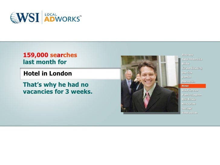 159,000  se ar ches last month for That's why he had no vacancies for 3 weeks. Hotel in London
