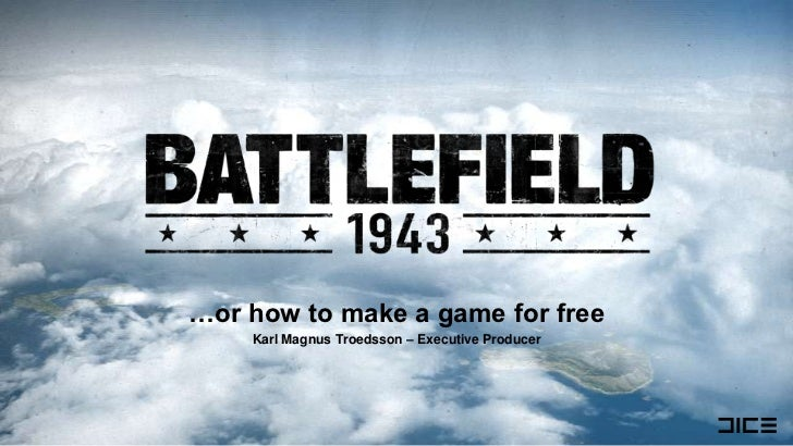 …or how to make a game for free<br />Karl Magnus Troedsson – Executive Producer<br />