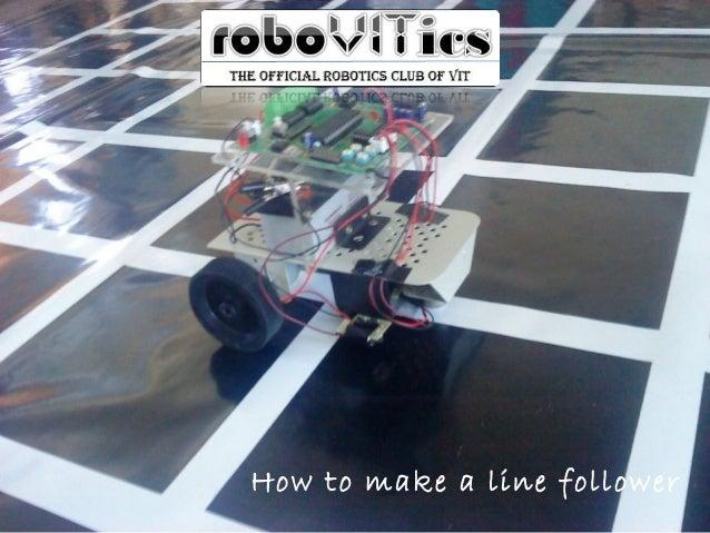 How to make a line follower