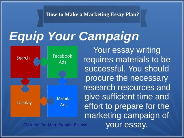 Essay on marketing management