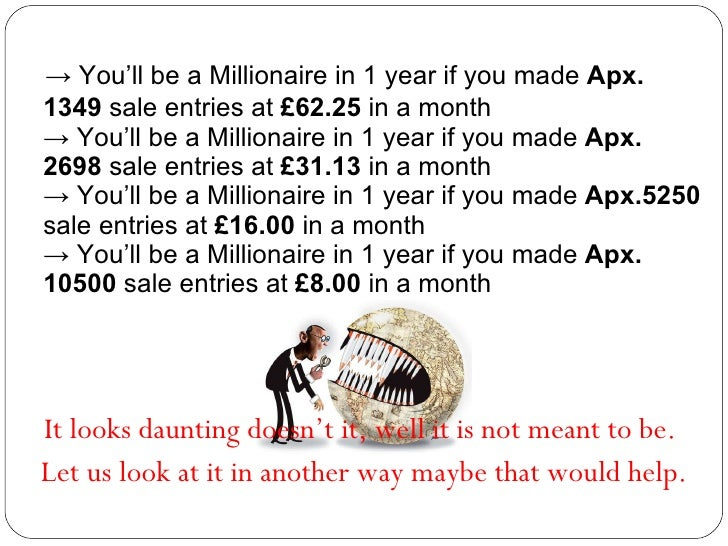 how to make one million dollars in a month