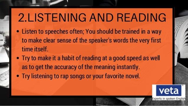 Easy how to speeches