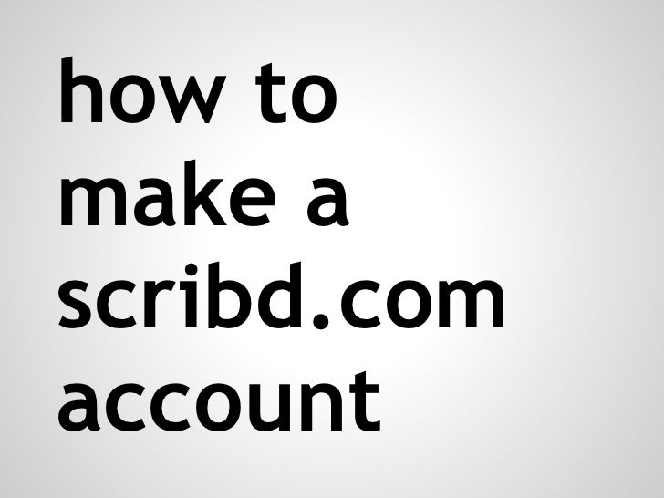 how to delete a scribd account