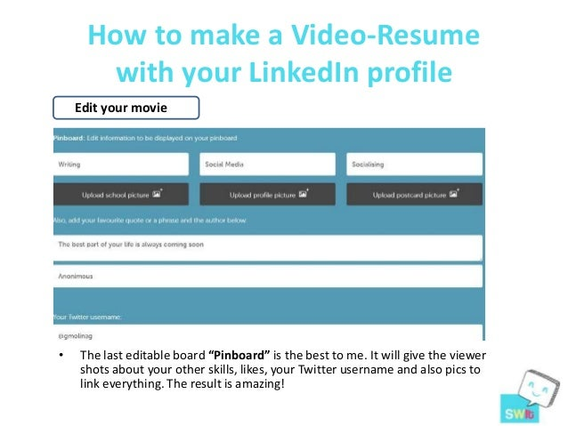 how to make an amazing linked in profile