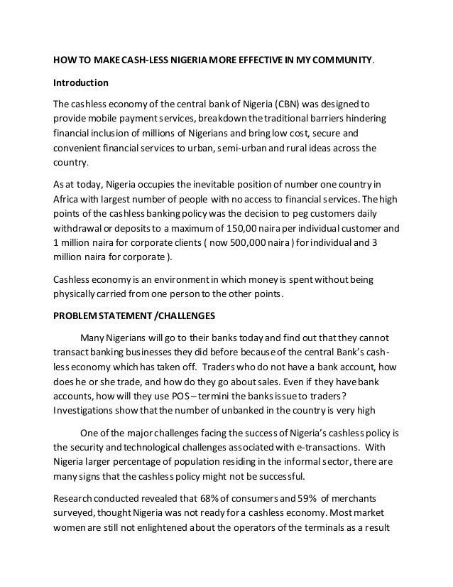 economy essay introduction