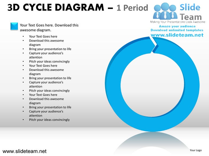 how to create cycle diagram in powerpoint