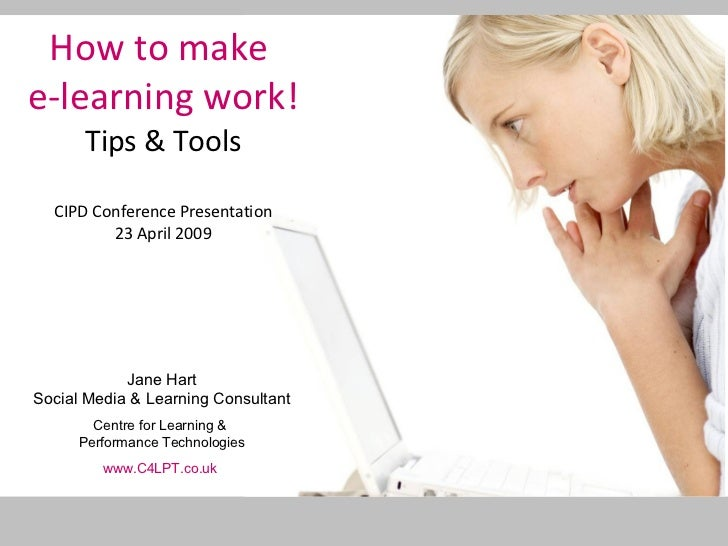 How To Make E Learning Work